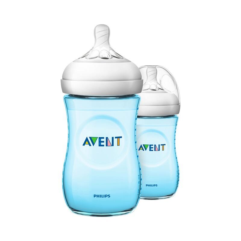 2er-Pack Anti-Kolik-Weithals-Flasche Natural, SCF035/27, 260 ml, Kunststoff, ab 1M