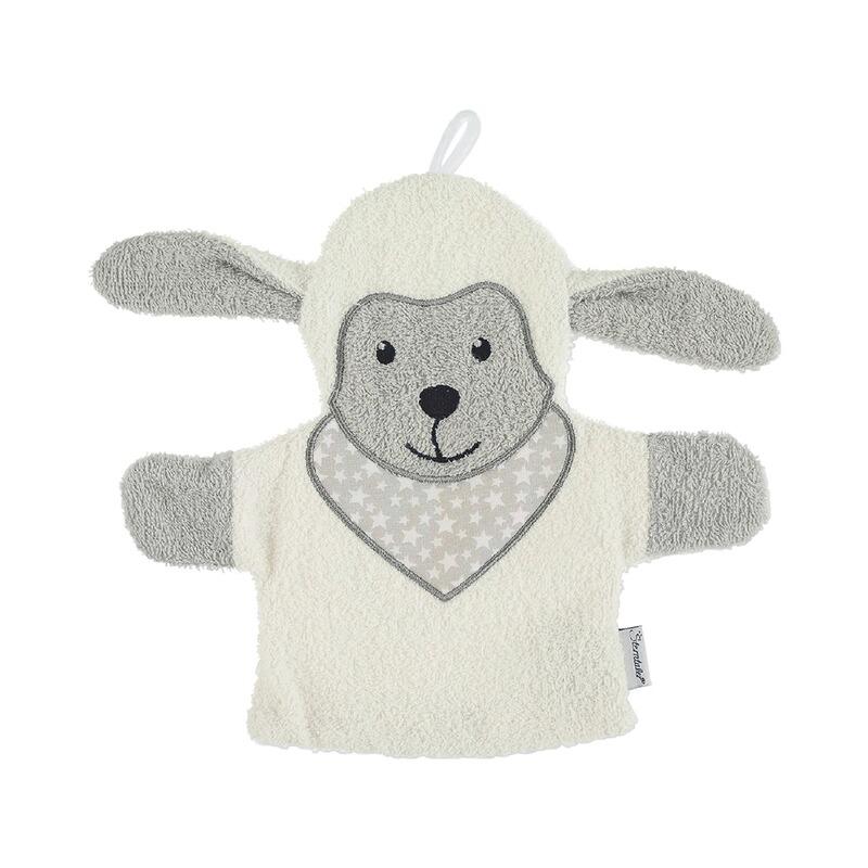 Spiel- und Waschhandschuh Schaf Stanley