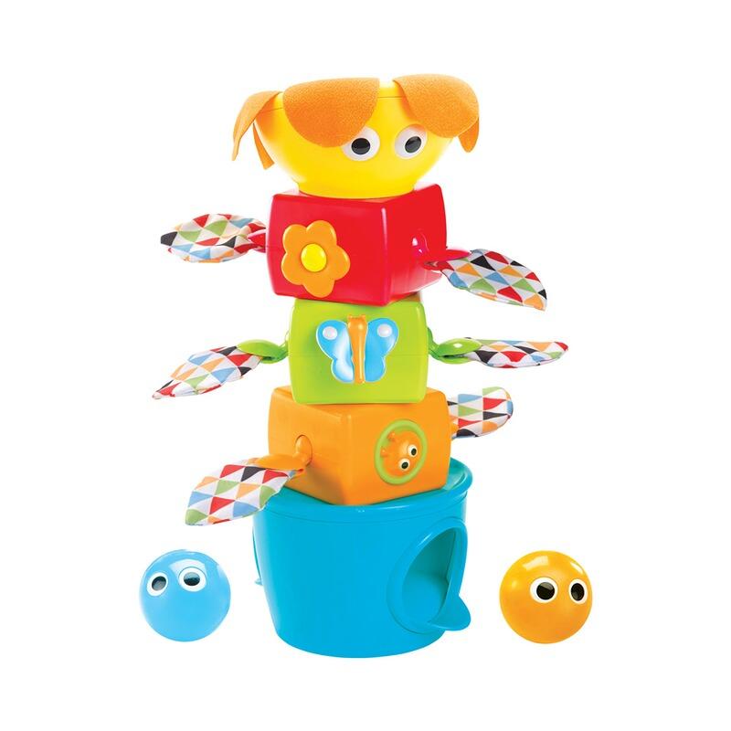 Yookidoo Steck-Turm mit Bällen NEU