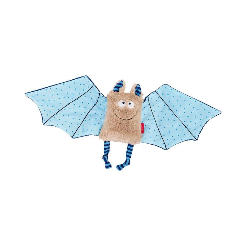 Schmusetuch Fledermaus hellblau